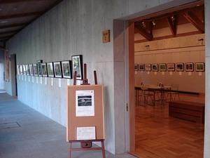 鈴木秀夫さんの写真展会場